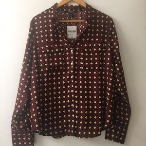 NWT Forever 21 Contemporary Blouse